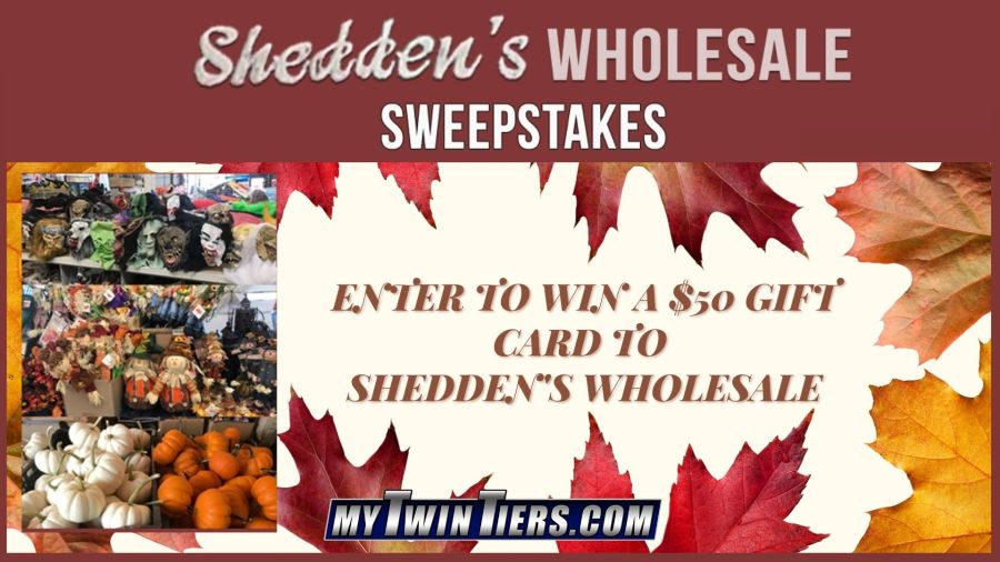 Shedden's Wholesale Sweepstakes Image