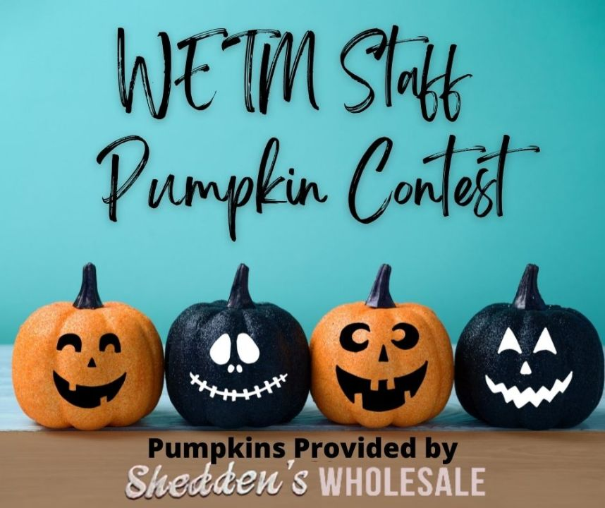 WETM Staff Pumpkin Contest Image