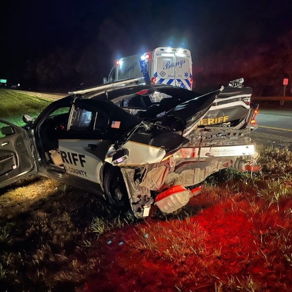 Tompkins County Sheriff's Deputy injured in SR 13 crash; Cortland woman charged with DWI